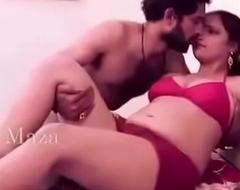 Bhabi  sexy Honeymoon hot red bra