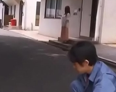 Newly married housewife drilled by worker while pinch pennies is away - Teaser