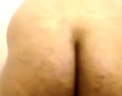 Indian hairy gaping asshole and aggravation
