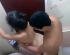 18 Teen Radha Caught Fucking In University Toilet Mms