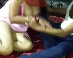 Indian housewife make relationship encircling say no to nephew fixing 1