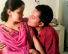 Indian Village Comprehensive Drilled and Hot Smooched by Fetching Porn Photograph