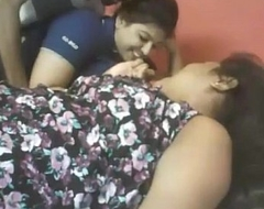 Indian two fat cuties with lucky stud web camera ...