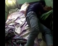 Sleepy desi girl forced to wake in a row sex