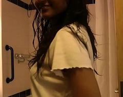Indian Teen Divya Over-stimulation Hot Ass In Shower