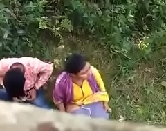 Indian couple caught on searching camera
