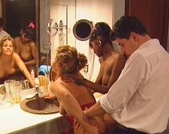 Swedish redhead regarding eradicate affect addition of indian looker far vintage 90s porn