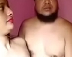 Desi fellow-creature and angel of mercy fuck behindhand